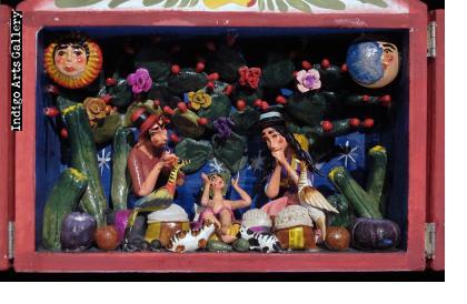 Nacimento (Nativity) Retablo