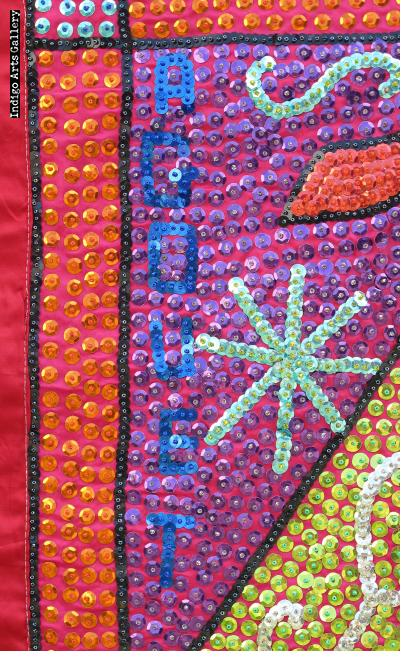 Agouet - Vodou Flag