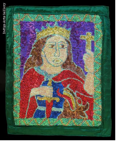 St. Martha - Vodou Flag