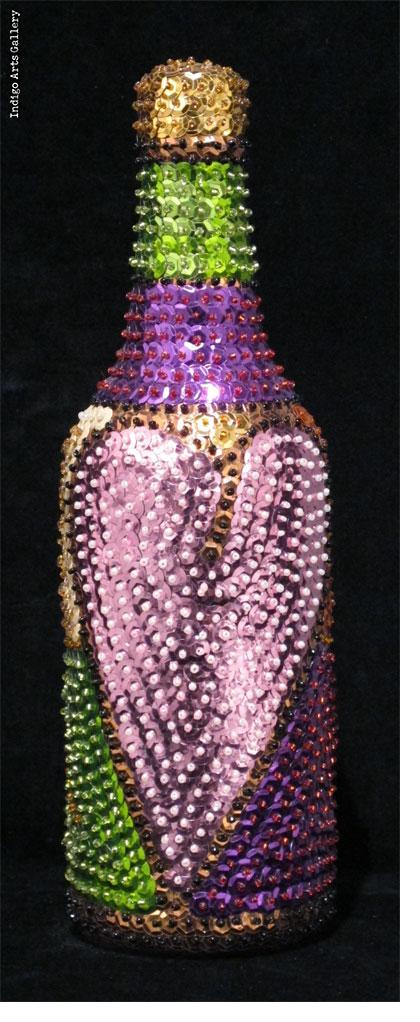 "Erzulie Freda (purple)"" Vodou Bottle"