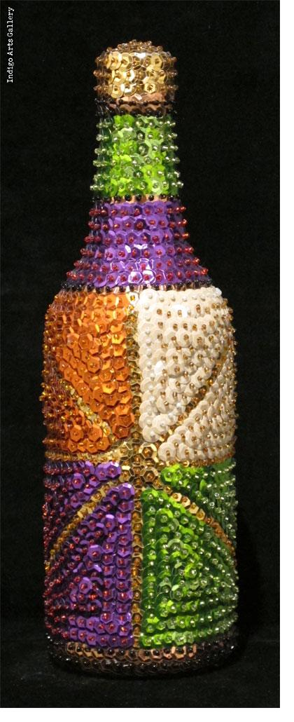 """Erzulie Freda (purple)"""" Vodou Bottle"""