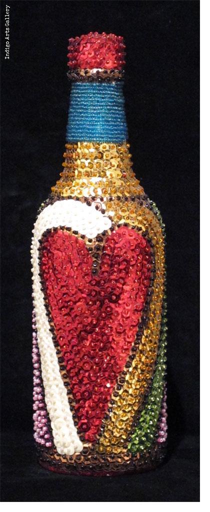 """Erzulie Freda"""" Vodou Bottle"""