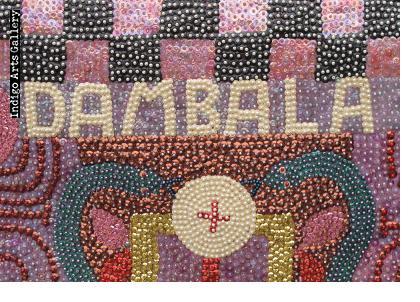 Dambala - Vodou Flag