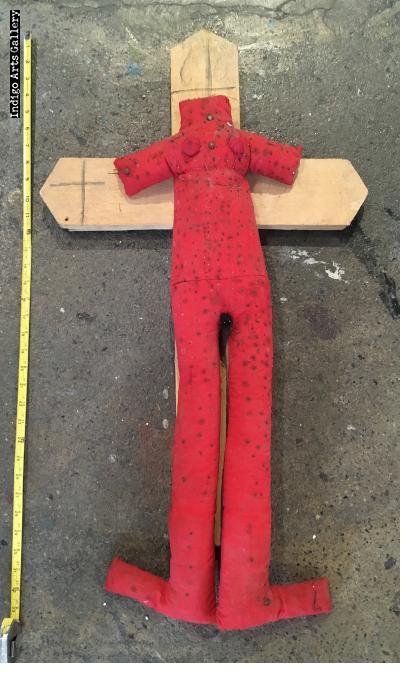 Figure on a Cross - Vodou object