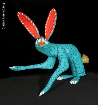 Conejo Turquesa (turquoise jack-rabbit)
