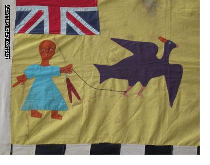 Asafo Flag Military Banner
