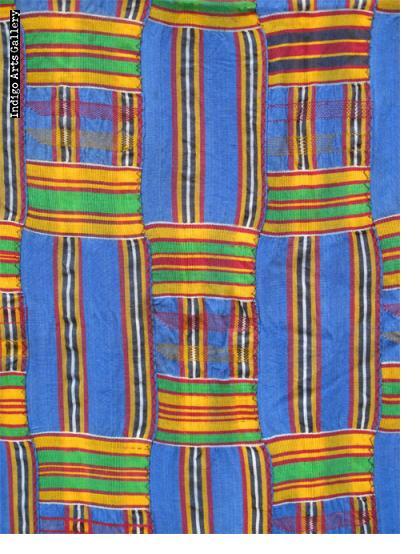 """Asante Kente Cloth """"woman's wrap"""""""