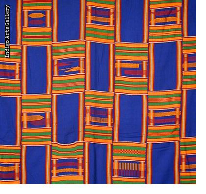 "Asante Kente Cloth ""man's wrap"""