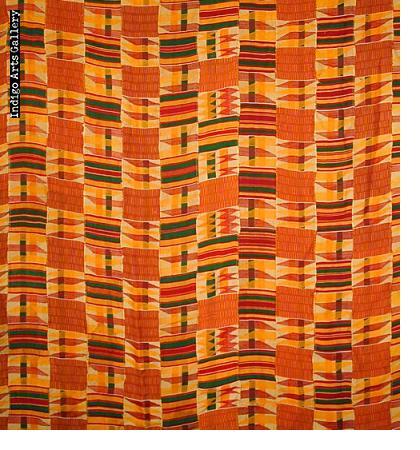 """Asante Kente Cloth """"man's wrap"""""""