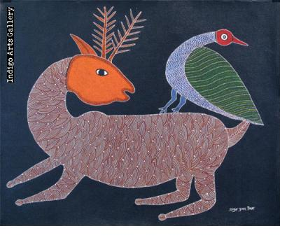 Deer and Bird -Anuj Tekam