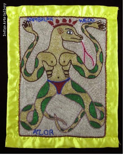 Dambalah Wedo - Vodou Flag