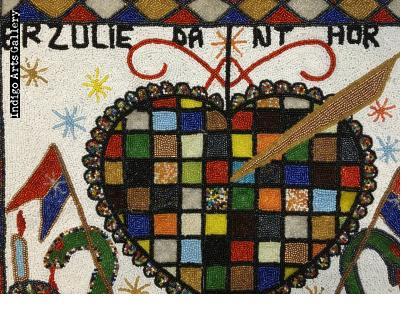 Erzulie Dantor - Vodou Flag