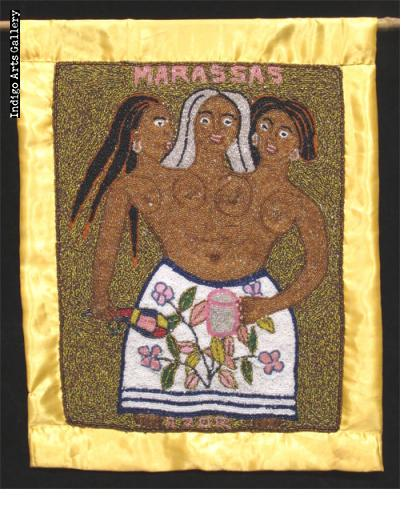 """""""Marassas"""" Vodou Banner"""