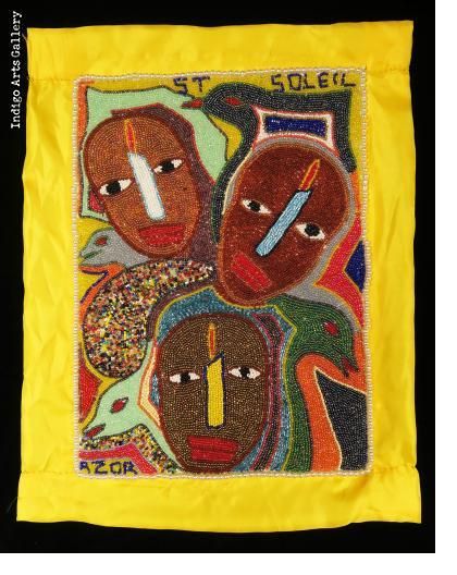 St. Soleil Beaded Flag