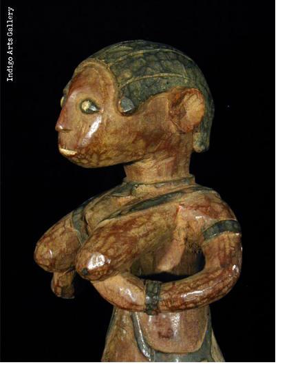 Baga Nimba Female Shrine Figure