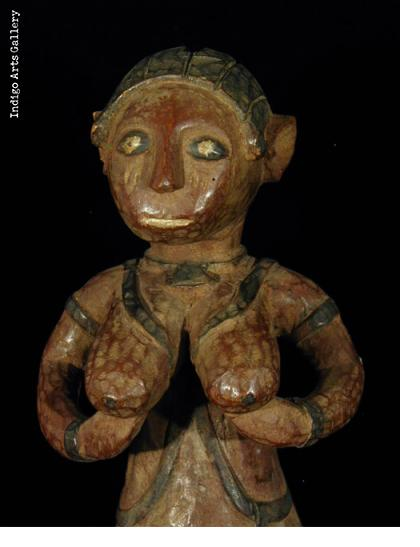 Baga Nimba Female Shrine Figure