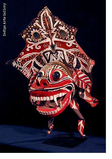 Antique Barong Mask