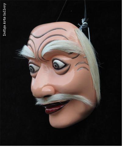 Topeng Tua (Old Man) Mask