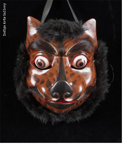 Fox Mask with moveable jaw