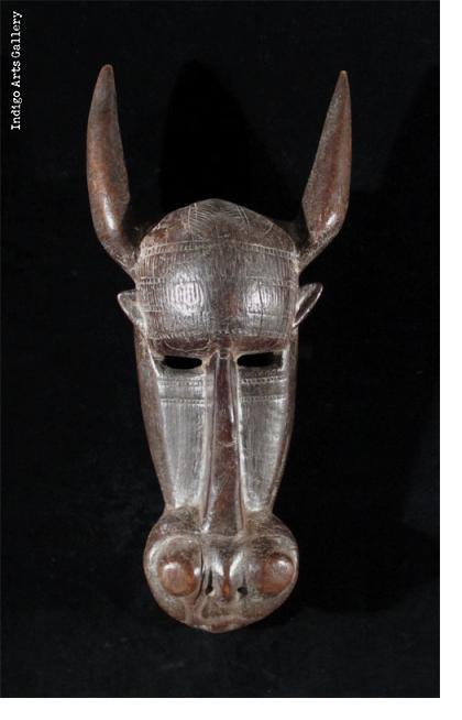Bamana Buffalo Mask