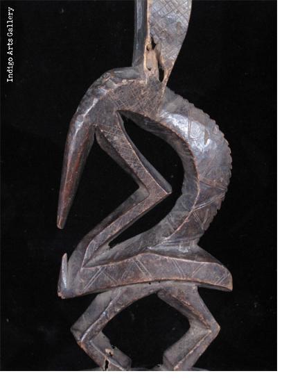 Bamana Chiwara Antelope Headdress