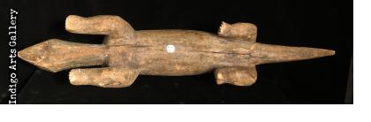Bamana Crocodile Figure
