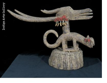 Bamana Ngozunkhun Headdress - female