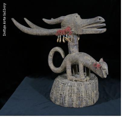 Bamana Ngozunkhun Headdress - female