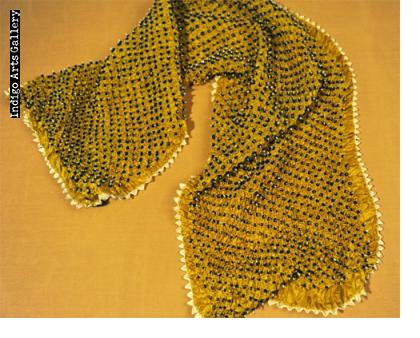 Bandhani Silk Scarf