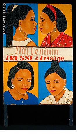 Millenium Tresse & Tissage Hair-braider's Sign