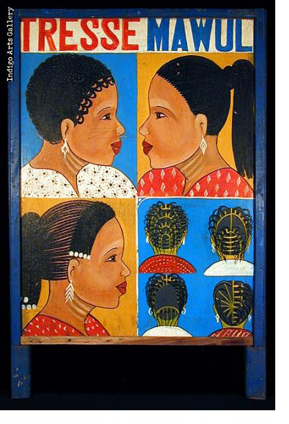 Tresse Mawuli Hair-braider's Sign