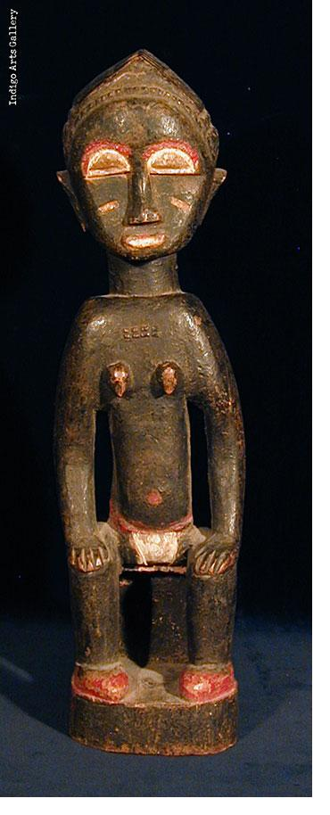 Baule Spirit Figure