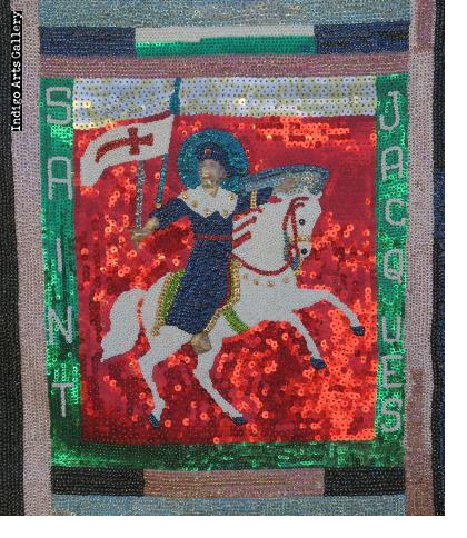 Saint Jacques Vodou flag