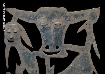 The Bull, the Goat and the Spirits - Early Bien-Aimé Sculpture