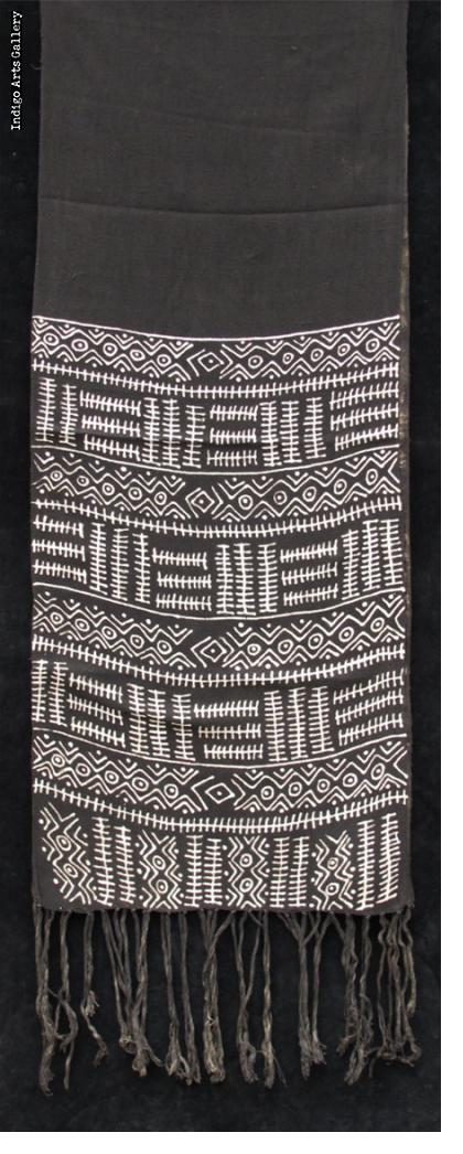 Bogolanfini - Bamana Mud-cloth scarf