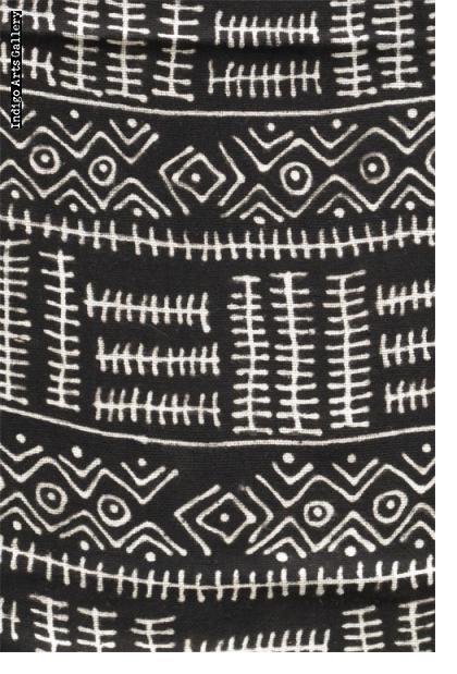 Bogolanfini - Bamana Mud-cloth scarf