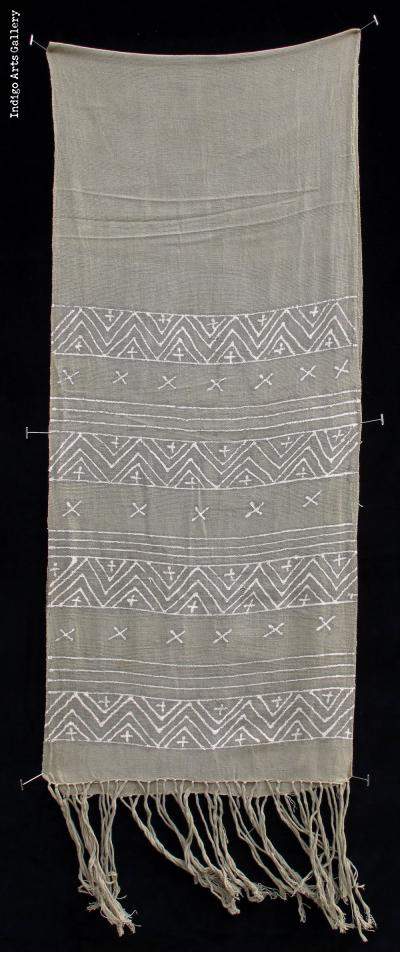 Bogolanfini - Mud-cloth scarf