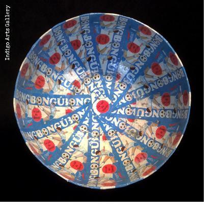 Bongu! Papier-mâché covered bowls