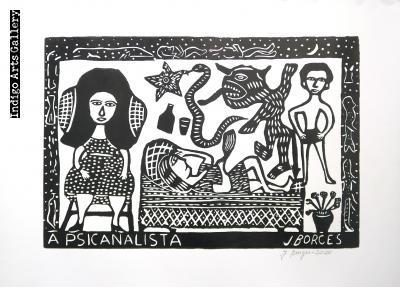 A Psicanalista (bw) (2020)