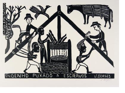 Engenho Puxado A Escravos (Sugar Mill Powered by Slaves)