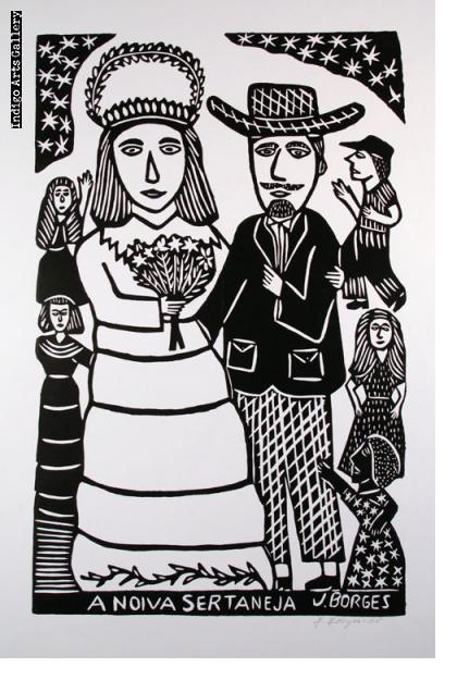 José Francisco Borges - A Noiva Sertaneja (black & white)