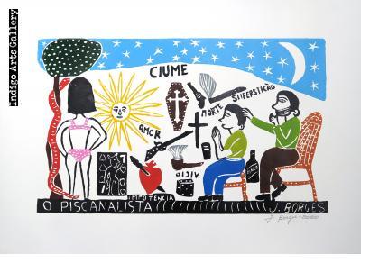 O Psicanalista (color) (2020) - José Francisco Borges