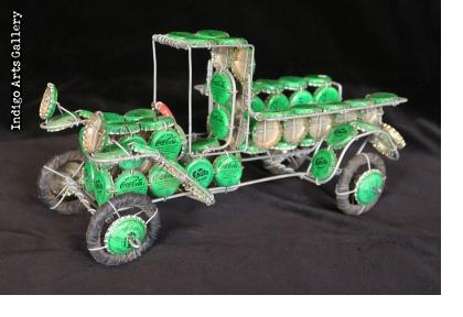 Bottle-cap Truck