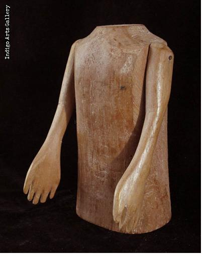 Milagre Ex-voto Torso with Movable Arms (#bxv-102)