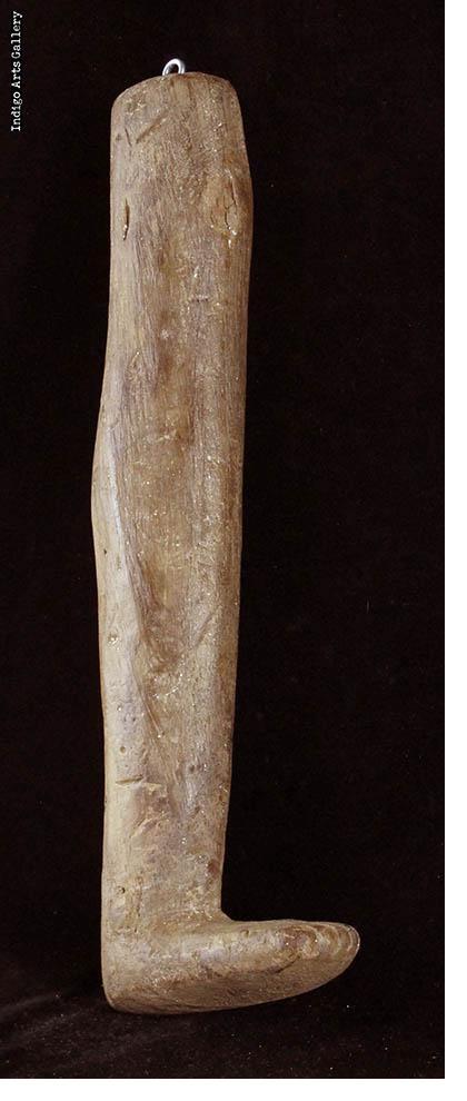 Milagre Ex-voto Leg with Open Wound (#bxv-103)