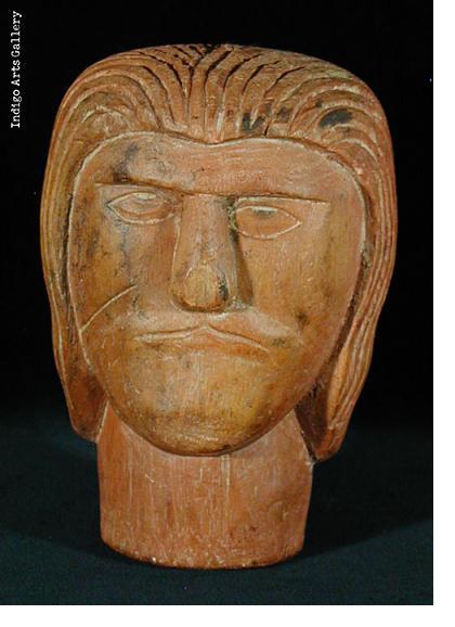 Milagre ex-voto head (#bxv-51)