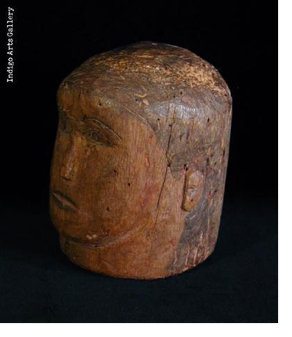 Milagre ex-voto head (#bxv-91)