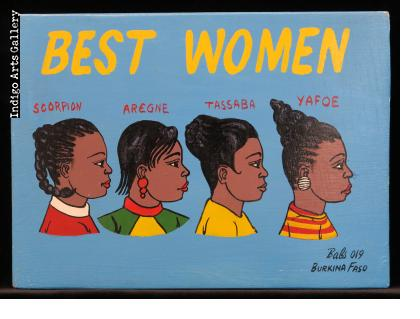 Best Women - Mini Signboard