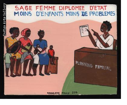 Sage Femme Diplomee D'Etat - Mini Signboard