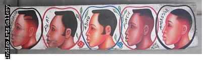 Paris - Dakar Hairdresser's Sign